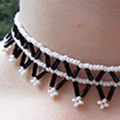 How To Make A Netted Choker Out Of Beads