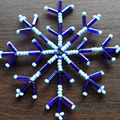 How To Make A Wire Snowflake